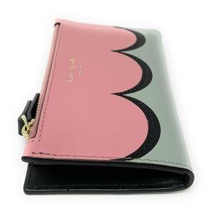 Kate Spade Bags - Kate Spade Intarsia Scallop Small Bifold Wallet